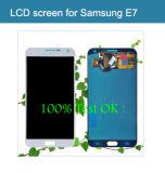 Экран LCD о'кейа испытания 100% для галактики E7/E5 Samsung