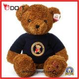 Oso de la felpa del oso del juguete del oso del peluche de Brown con el suéter