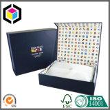 Коробка подарка бумаги ювелирных изделий картона магнита близкая роскошная