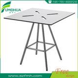 熱い販売円形の薄い灰色の耐熱性テーブルの上