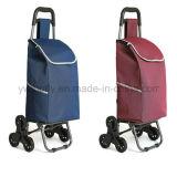 Гальванизированная вагонетка корзины багажа магазинной тележкаи супермаркета руки створки стальная