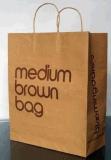 O logotipo do saco/sacos de compra do papel de embalagem Personalizou