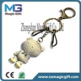 Trousseaux de clés en alliage de zinc en métal de cheval neuf en gros du modèle 3D pour des cadeaux ou des souvenirs