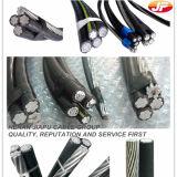 Duplex empaqueté aérien de câble/aluminium triple/quadruplex Conductortriplex de baisse de service
