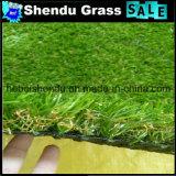 すべての緑色の25mmの景色の人工的な草