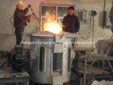 1 Tonnen-Mittelfrequenzinduktions-schmelzender Ofen verwendet für Eisen/Stahl/Kupfer