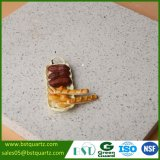 Сляб камня кварца Sparkle цен по прейскуранту завода-изготовителя белый
