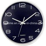 Reloj plástico de Hunging de la pared para la decoración casera en precio de fábrica