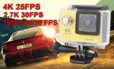 Disparaissent le PRO appareil-photo d'action de l'appareil-photo HD de sport de type