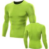 Dt5021 Neleusの男性圧縮のスポーツの連続した衣類のTシャツ
