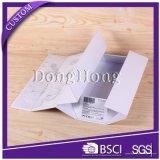 Lujo de papel de la boda plegable Rígido cajas de regalo con cinta