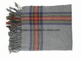 アクリルの縞の女性(ABF22004008)のためのヤーンによって染められる方法スカーフ