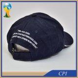 Gorra de béisbol bordada modificada para requisitos particulares del deporte de la insignia