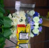 Flache Unterseiten-Quadrat-transparenter Beutel des Zoll-BOPP für Süßigkeit, Geschenk, Nahrung, Brot-Beutel mit selbstklebendem