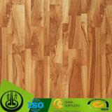 チークの床のための木製の穀物のペーパー