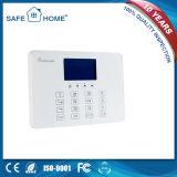 Sistema de alarme sem fio da G/M do agregado familiar vendável com o teclado do toque da alta qualidade