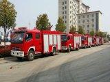 Dongfeng Dlk 4X2 LHDの水漕の消火活動のトラック