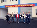 156*156 una pila solare monocristallina del grado
