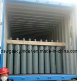 cilindro d'acciaio dell'elio di norma ISO Dell'imbottigliatore 99.999% 40L