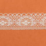 Garniture nuptiale bon marché de lacet de première pente pour la robe de mariage, lacet décoratif