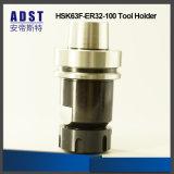 CNC 기계를 위한 고성능 Hsk63f-Er32-100 콜릿 물림쇠 공구 홀더
