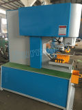 Máquina de estaca hidráulica da canaleta do ângulo do trabalhador do ferro do Ironworker do Único-Cilindro