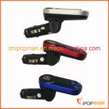 Nécessaire émetteur FM de chargeur de téléphone avec le joueur de Bluetooth de lecteur MP3 de véhicule émetteur FM