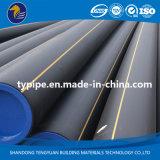 Encanamento plástico do polietileno do padrão de ISO para o gás