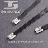 Serres-câble enduits d'acier inoxydable de PVC