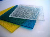 Feuille gravée en relief par polycarbonate solide de Bayer de matériau de construction de Mytext