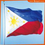 Kundenspezifisch imprägniern und Sunproof Staatsflagge-Philippinen-Staatsflagge-Modell Nr.: NF-038