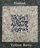 Mattonelle arrugginite gialle naturali del granito personalizzate G682