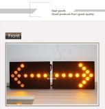 Twee Delen 52mm de LEIDENE Opvlammende Lichte LEIDENE van het Verkeer Raad van de Pijl