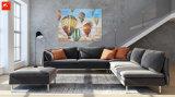 Картина маслом холстины воздушного шара Handmade декора стены горячая