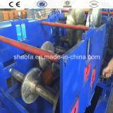 Rullo d'acciaio del vano per cavi di colore che forma macchina