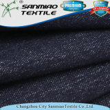 Economia Indigo 20s Cotton Stretch Knitted Denim Fabric for Jeans