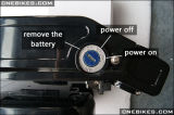 De Batterij van het Lithium van de Kikker van Ebike 36V 10ah voor Om het even welke Fiets