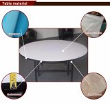 판매를 위한 상업적인 임대 체더링 둥근 플라스틱 테이블