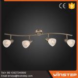 Europäisches modernes Eisen 4 Punkt-Licht-Preise des Halter-Art-Fabrik-Preis-20W in China