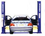 Подъем автомобиля подъема 2 столбов