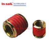 Rosquear-Travando inserções entalhadas para o metal, E-Zlok