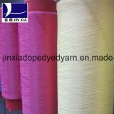 Hilados 500d / 192f droga teñido DTY de filamentos de poliéster texturado