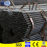 Tubo de acero en frío de la precisión 65m m redonda negra para la estructura