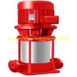 Type à plusieurs étages pompe de canalisation d'aspiration simple verticale de lutte contre l'incendie