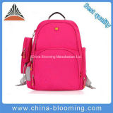 Crianças Rosy Nylon Padded Back Panel Backpack School Bag