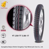 Pneumático 3.00-17 do pneu dos pneus da motocicleta (257)