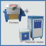 four de fonte de chauffage par induction de 100-250kg IGBT pour l'or acier-cuivre