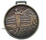 Sport-Preis-Medaille für Monthers Tag, laufender Laufring, Funkeln-Puder