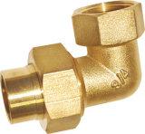 Le laiton de l'ajustage de précision d'articulation du coude (EM-V-15)