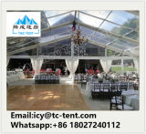 ein geformtes Zelt, das 3000 Leute transparent für Hochzeitsfest-Zelt überrascht